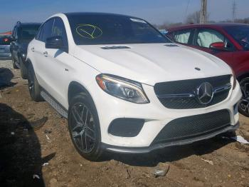 Salvage Mercedes-Benz GLE